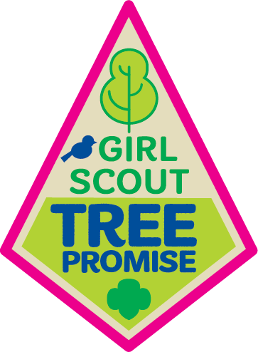 Girl Scout Tree Promise patch