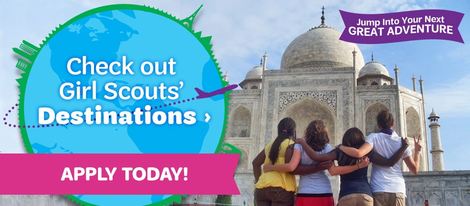 Apply Now to a Destinations Trip with GSCTX!