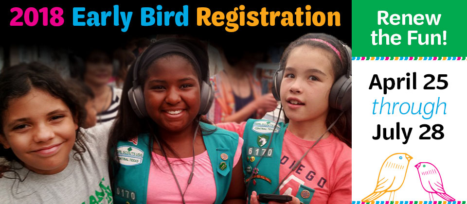 Early Bird Registration - Renew the Fun!