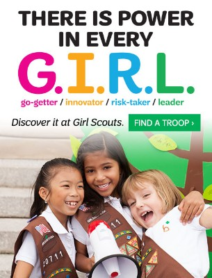 Lead Like A Girl Scout - Join Now!
