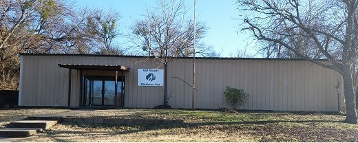 Stephenville Service Center, also known as the Mistletoe Hut