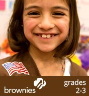 information about Brownies, grades 2-3
