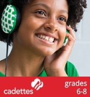 information about Cadettes, grades 6-8